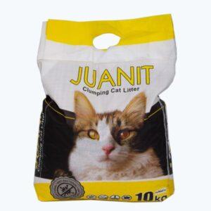 خاک گربه برند ژوانیت 10 کیلویی با رایحه لیمو