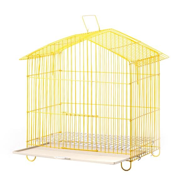 قفس پرنده تاشو سایز کوچک دارای کفی پلاستیکی کد 10