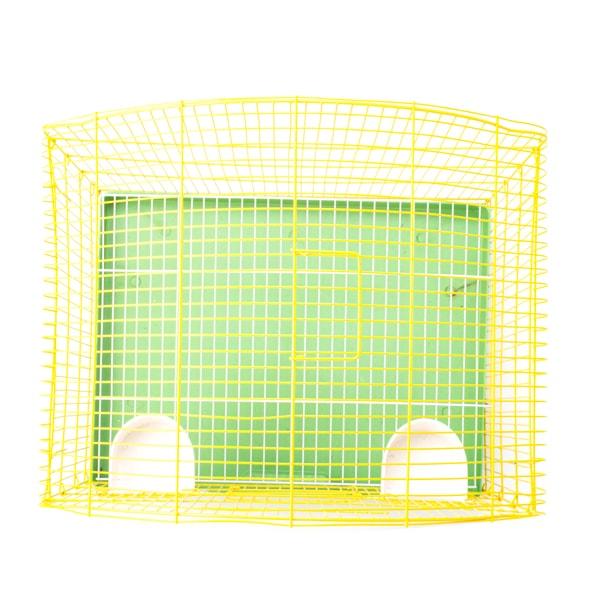 قفس پرنده تاشو مدل سه خم سقف گرد و ارتفاع مناسبسایز بزرگ