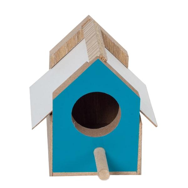 لانه پرنده فنچ کد ASH7 آبی رنگ