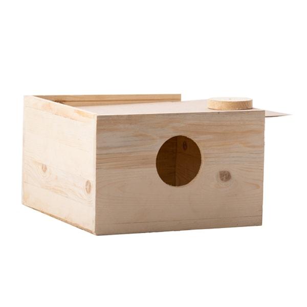 لانه چوبی پرنده عروس هلندی کد ASH4