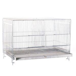 قفس ماده جدا کن حرفه ای سایز 64 برای تکثیر پرنده