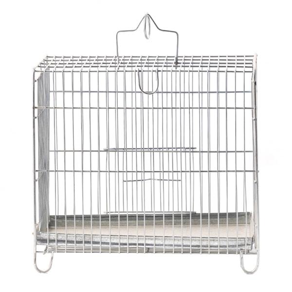 قفس پرنده غلامی آبکاری شده سایز 1 مخصوص پرندگان ریز جثه