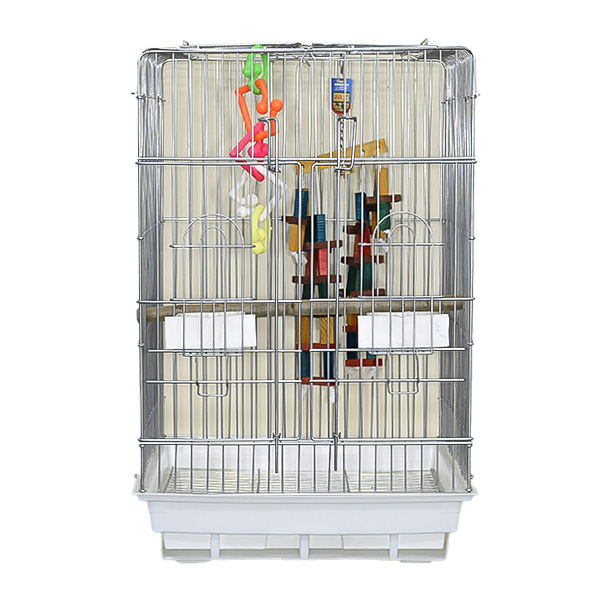 قفس طوطی سانان مدل دو درب کد 1033