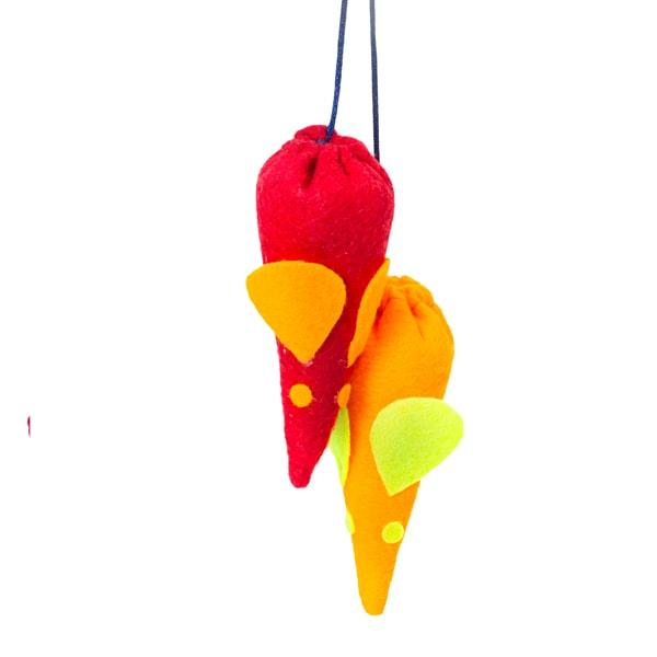 اسباب بازی گربه مدل موش قیف کد CT109 دارای رنگهای متنوع