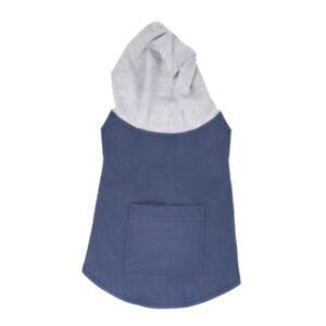 لباس سگ طرح جلیقه کلاه دار کد 121 برند میگ میگ پت