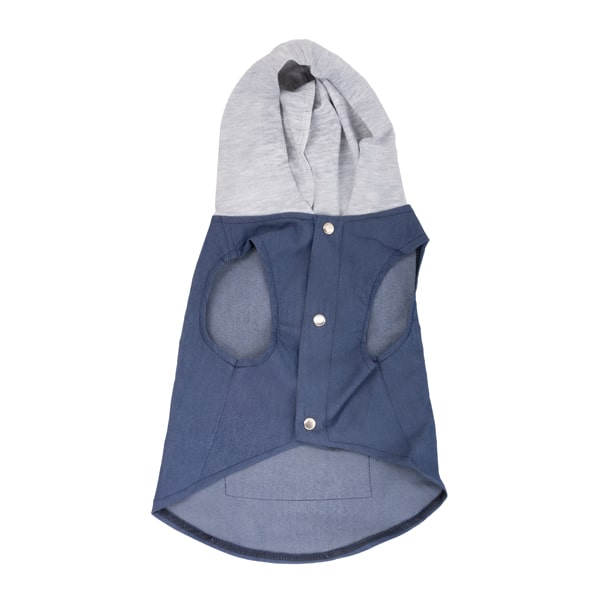 لباس سگ طرح جلیقه کلاه دار کد 121