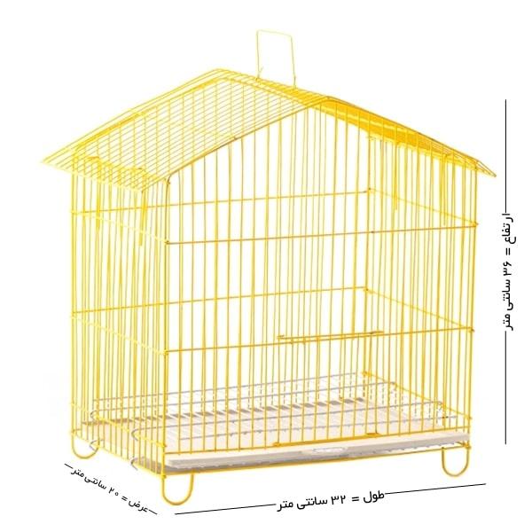 قفس پرنده تاشو سایز کوچک کد 10