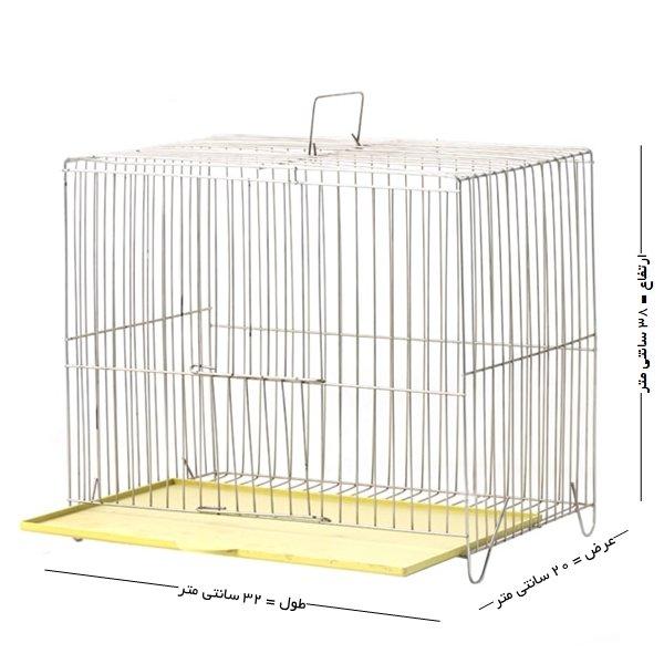 قفس پرنده مدل بازاری سایز کوچک