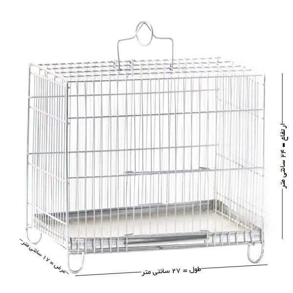 قفس پرنده غلامی سایز 1 مخصوص پرندگان ریز جثه