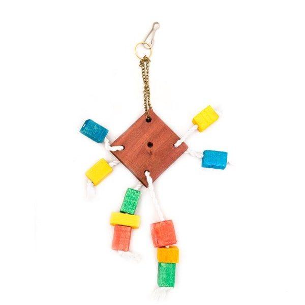 اسباب بازی طوطی کد BA107 برند میگ میگ پت رنگارنگ