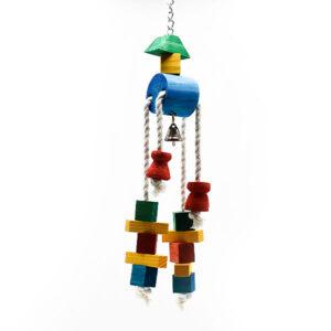اسباب بازی پرنده کد BA114 برند میگ میگ پت رنگارنگ