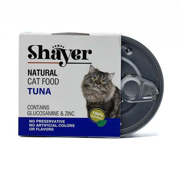 کنسرو گربه شایر حاوی ماهی 110 گرمی کد 231126