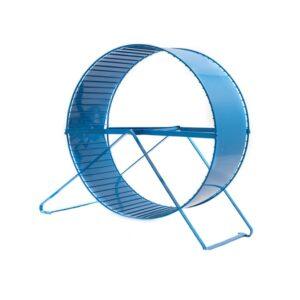 چرخ و فلک خوکچه هندی همستر فلزی آبی رنگ
