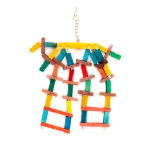 اسباب بازی پرنده کد BA112 برند میگ میگ پت رنگارنگ