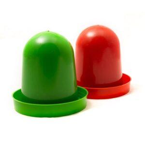 آبخوری کبوتر مدل کله قندی کد Ba002 سبز و قرمز