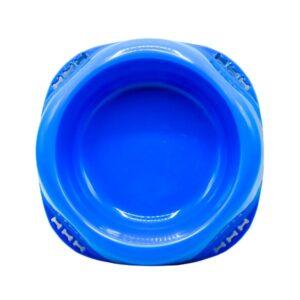 ظرف غذای سگ پلاستیکی برند میگ میگ پت کد DA037 آبی رنگ