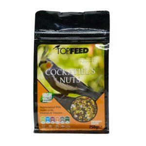 غذای طوطی مدل آجیلی برند Topfeed کدBF200
