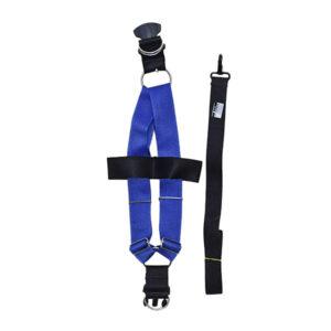 قلاده سگ مدل کمری 5 سانتیمتر کد DA420 آبی رنگ