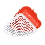 دستشویی خرگوش پلاستیکی رنگ قرمز و سفیدکد RA111
