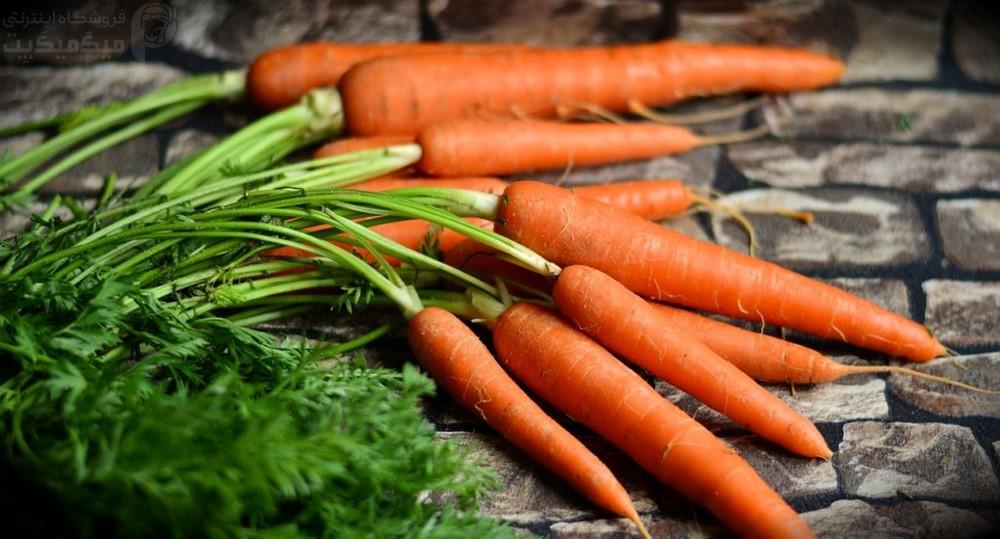 فواید هویج برای پرندگان